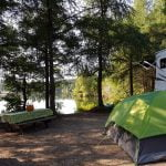 Terrain site camping domaine lausanne