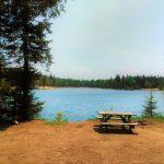 camping site terrain tente pique-nique lac Laurentides Domaine Lausanne