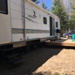 Roulotte 325 tout équipée prêt-à-camper Camping du Domaine Lausanne