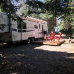 Roulotte 326 tout équipée prêt-à-camper Camping du Domaine Lausanne
