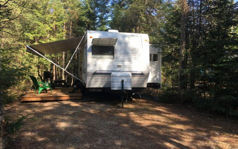 location roulotte Laurentides
