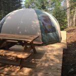 Cosy Bubble vue extérieur