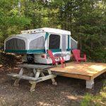Tente-roulotte site O
