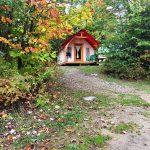 Prêt-à-camper/glamping nommé tente boréale T1 disponible à la location au Camping du Domaine Lausanne