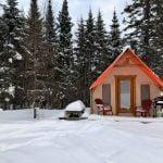 Prêt-à-camper/glamping nommé tente boreale disponible à la location au Camping du Domaine Lausanne