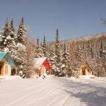 Prêt-à-camper/glamping nommé tente boréale -village- disponible à la location au Camping du Domaine Lausanne