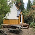 Prêt-à-camper/glamping nommé tipi disponible à la location au Camping du Domaine Lausanne