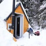 Prêt-à-camper-glamping tipi S1 extérieur- hiver - Camping du Domaine Lausanne S2