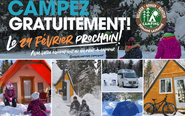 camping gratuit