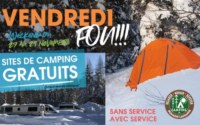 vendredi fou camping du domaine lausanne gratuit